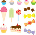 Candies Collection Royalty Free Stock Photo