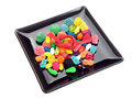 Candies dish with a lot of Stock Photos