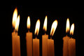 Candle lights Royalty Free Stock Photo