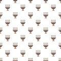 Candlelight candlestick pattern seamless