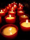 Candles church Royalty Free Stock Photo