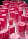 Candles Factory Royalty Free Stock Photo