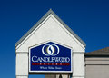 Candlewood suites sign and logo richfield mn usa august is part of the multinational intercontinental hotels Royalty Free Stock Photos