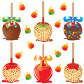 Candy apple treats Royalty Free Stock Photos
