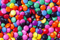 Candy background colorful and vibrant arranged randomly in a Stock Photo
