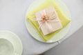 Candy box at wedding Royalty Free Stock Photo