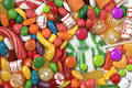 Candy, candy, candy Stock Image