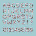 Candy Cane Font.