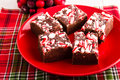 Candy Cane Fudge Royalty Free Stock Images