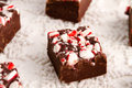 Candy Cane Fudge Stock Photos