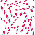 Candy Cane Repeating Pattern Royalty Free Stock Photography