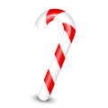 Candy cane vector illustration of Stock Image