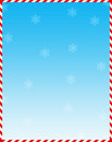 Candy cane web background Stock Image