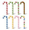 Candy canes Stock Image