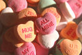 Candy Conversation Hearts Royalty Free Stock Photography