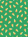 Candy corn background Royalty Free Stock Images