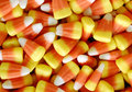 Candy corn a bunch of background Royalty Free Stock Images