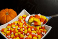 Candy Corn Treat Royalty Free Stock Images