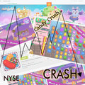 Candy crush tumbles in debut in wall street Royalty Free Stock Images