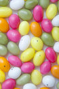 Candy easter eggs Stock Images