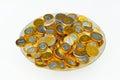 Candy Euro Coins Royalty Free Stock Photos