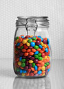 Candy jar Stock Photo