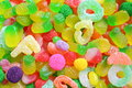 Candy a large pile of mixed sweets Royalty Free Stock Photo