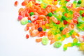 Candy a large pile of mixed sweets Royalty Free Stock Photography