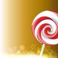 Candy lollipop vector design background Royalty Free Stock Photography