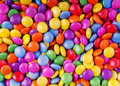 Candy many colorful as background Stock Image