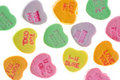 Candy Message Hearts Royalty Free Stock Images