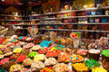 In a candy shop Royalty Free Stock Photo