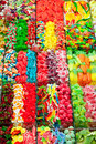 Candy sweets jelly in colorful display Royalty Free Stock Photography
