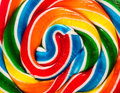Candy swirl background colorful Stock Image