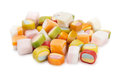 Candys on a white background Stock Images