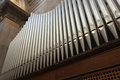 Canes of an church organ large a Royalty Free Stock Photos