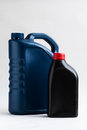 Canister machine oil automobile container gallon Royalty Free Stock Images