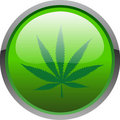 Cannabis icon Stock Photo