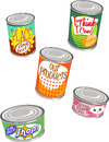 Canned Graphics 2 Stock Image