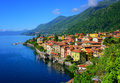 Cannero Riviera old town, Lago Maggiore, Italy Royalty Free Stock Photo