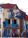 Cannes: painted house Royalty Free Stock Image