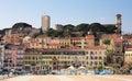 Cannes skyline Stock Photos