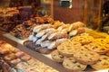 Cannoli italian dessert, Sicilian pastry Stock Photos