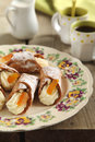 Cannoli sicilien Photo libre de droits
