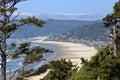 Cannon Beach Oregon coast. Royalty Free Stock Photo