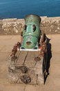 Cannon at culzean castle ayrshire scotland Royalty Free Stock Photography