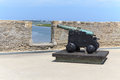 Cannon of a fortress in savannah usa Royalty Free Stock Photography