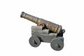 Cannon isolated Stock Images