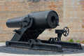 Cannon spanish american war located florida Royalty Free Stock Photography