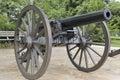 Cannone dell'annata Fotografia Stock